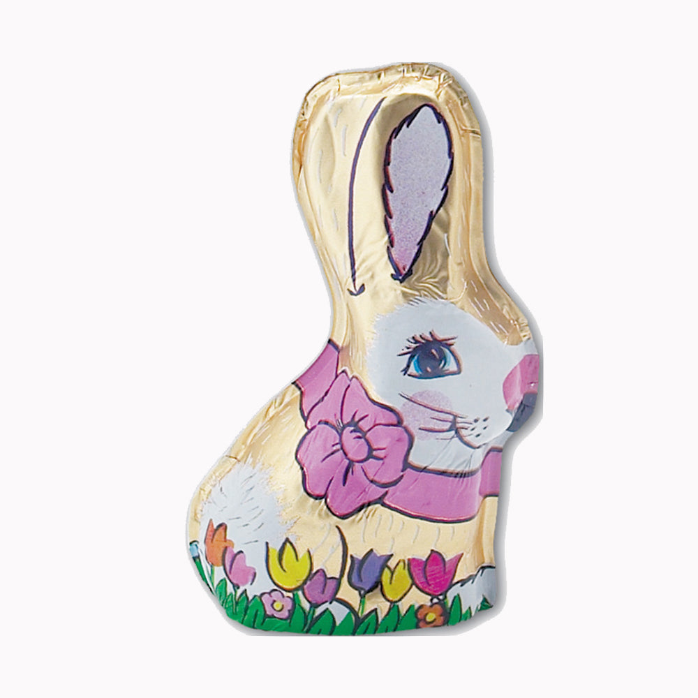 Milk Chocolate Foiled Bunny (2oz) - Edelweiss Chocolates