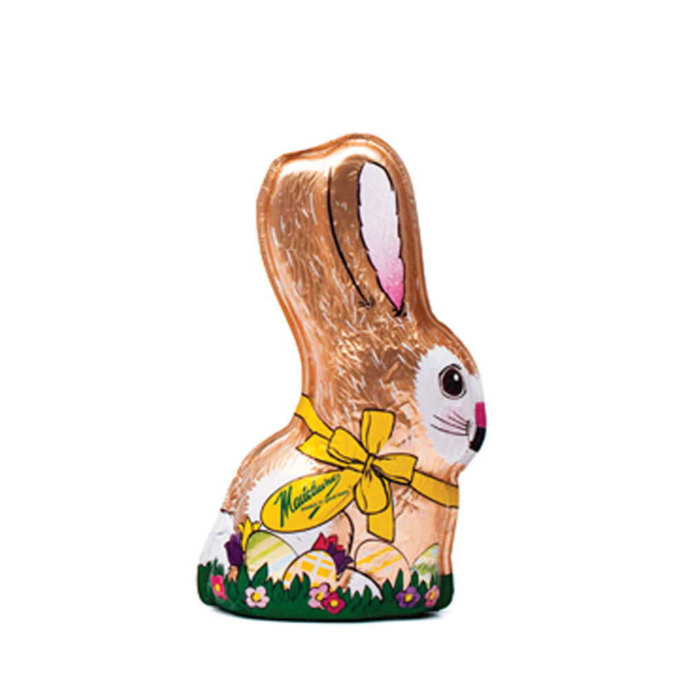 Milk Chocolate Foiled Bunny (4oz) - Edelweiss Chocolates