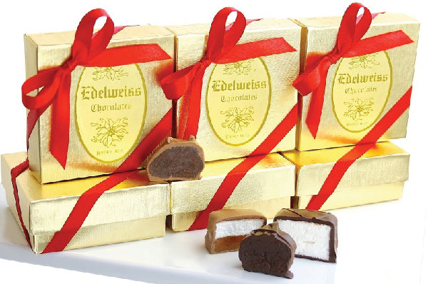 4 Piece Assortment Gift Box - Edelweiss Chocolates