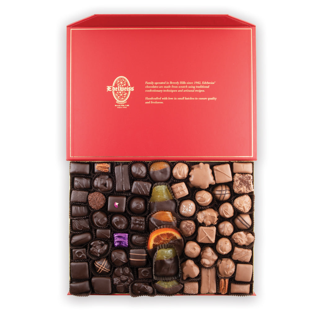Assorted Chocolates - 5 lbs Gourmet Chocolates handmade in Beverly Hills and Los Angeles. We only sell Premium Chocolates.