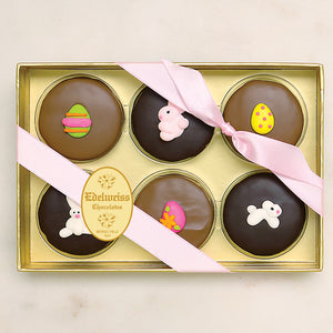 Gourmet Handmade Chocolate Easter Oreos (small) - Edelweiss Chocolates Handmade Gourmet Chocolates made in Beverly Hills and Los Angeles