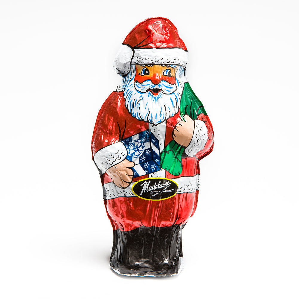 Large Milk Chocolate Santa - Edelweiss Chocolates