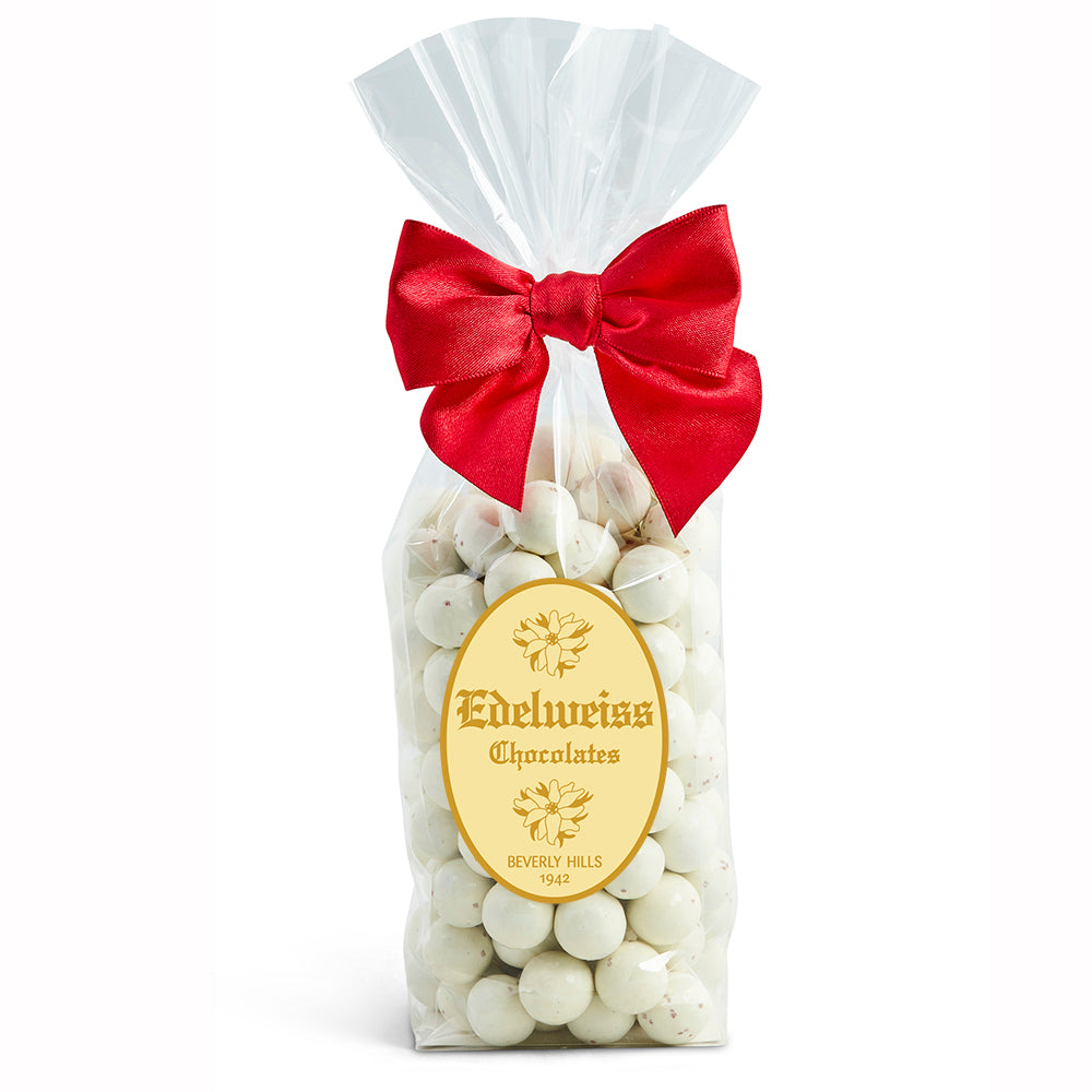 Candy Cane Caramels - Edelweiss Chocolates Gourmet Premium Milk Dark Chocolate Gift Los Angeles Beverly Hills Handmade Handcrafted Candy