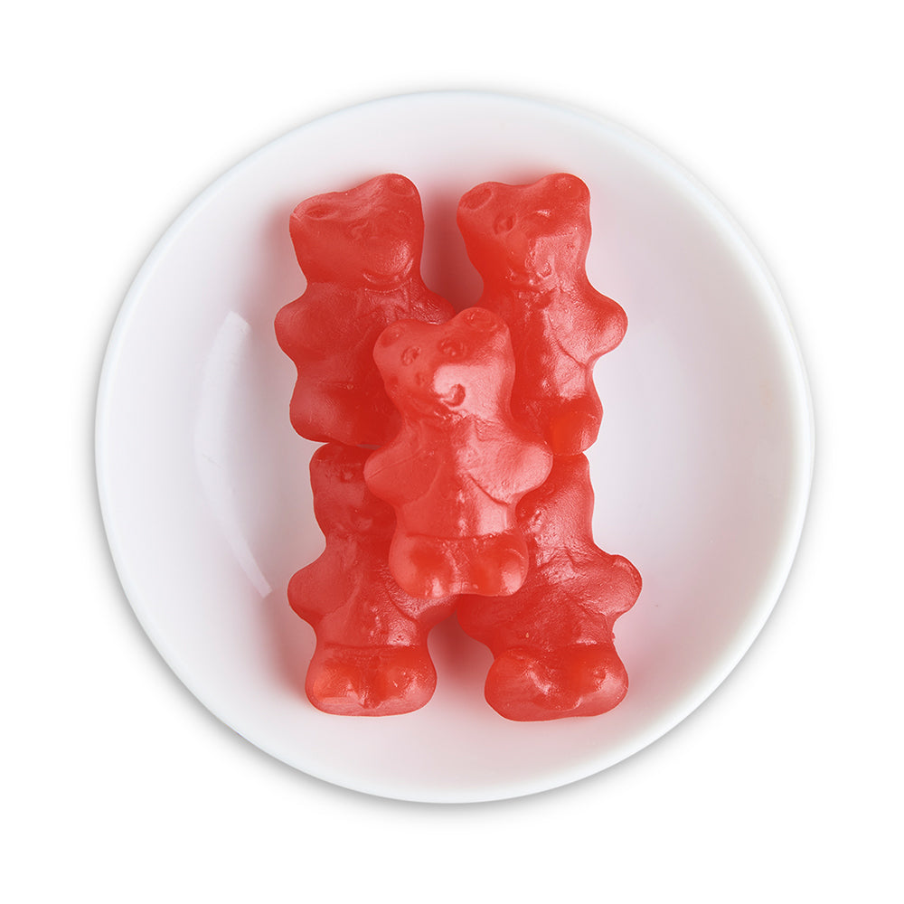 Chewy Cinnamon Bears - Edelweiss Chocolates