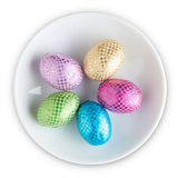 Milk Chocolate Crispy Easter Foiled Eggs - Edelweiss Chocolates