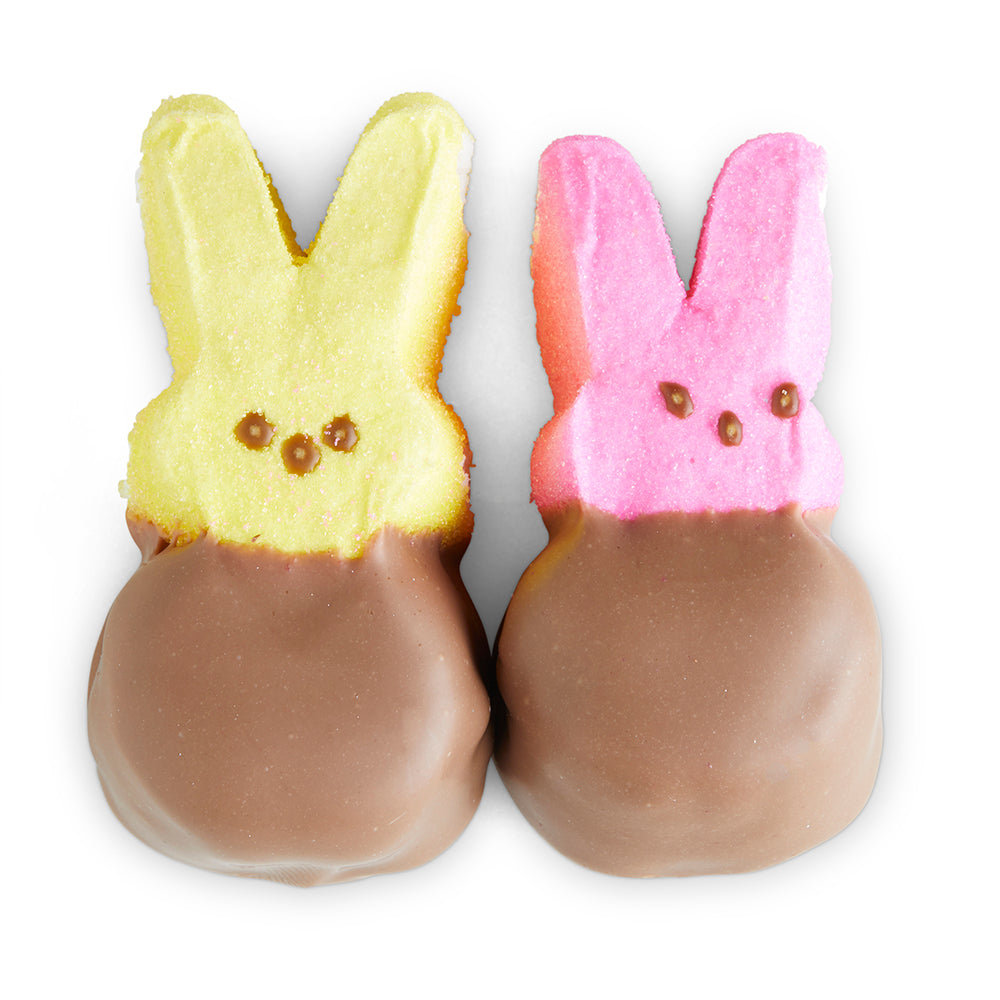 Handmade Easter Chocolate Peeps - Edelweiss Chocolates Gourmet Premium Milk Dark Chocolate Gift Los Angeles Beverly Hills Handmade Handcrafted Candy