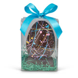 Handmade Dark Chocolate Speckled Easter Egg - Edelweiss Chocolates