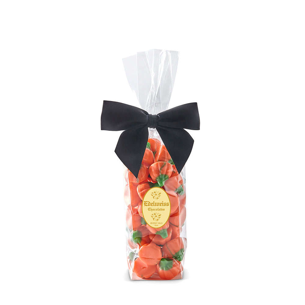 8 oz Gift Bag of Gourmet Halloween Candy Handmade in Los Angeles Beverly Hills Mellocreme Pumpkins