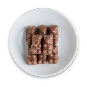 Milk Chocolate Gummy Bears - Edelweiss Chocolates