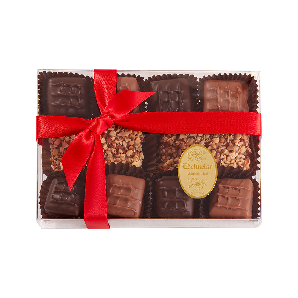 Chocolate Toffee Assortment (18 Pieces) - Edelweiss Chocolates