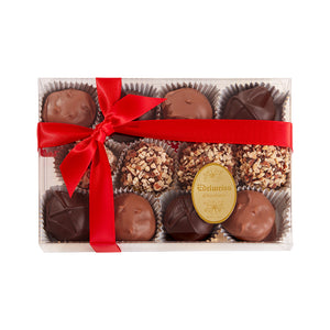 Chocolate Truffle Assortment (12 Pieces) - Edelweiss Chocolates