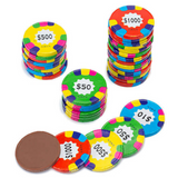 Gourmet Chocolate Poker Chips - Edelweiss Chocolates