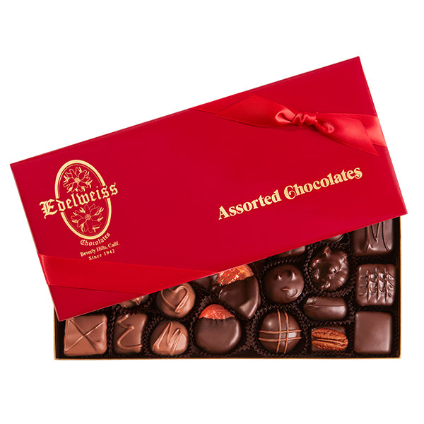 Gourmet Milk and Premium Dark Chocolates Candy Handmade in Los Angeles Beverly Hills Sampler