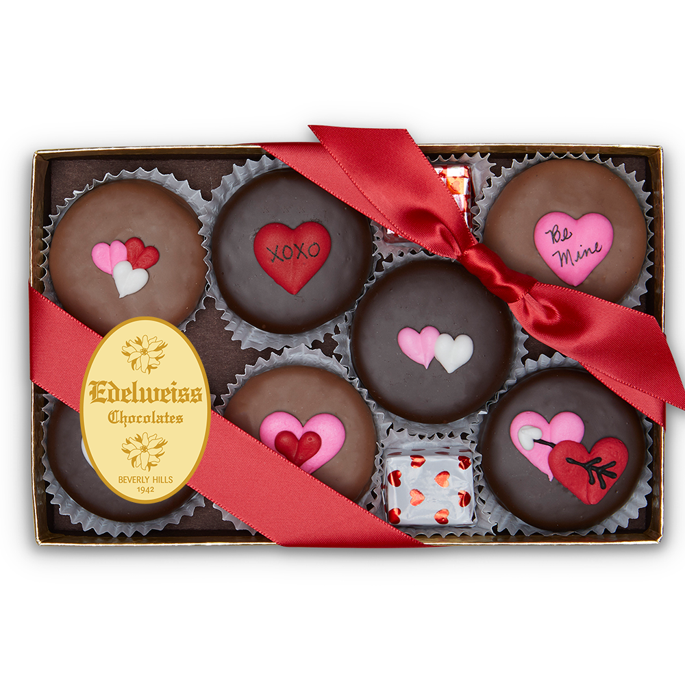 Gourmet Handmade Chocolate Oreos For Valentine's Day (Small) - Edelweiss Chocolates
