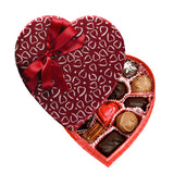 Crimson Heart Box (8 oz) - Edelweiss Chocolates