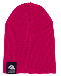Fold Up Beanie Pink