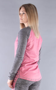 W's Base One Top Grey/Rose