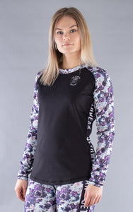W's Base One Top Dusky Floral