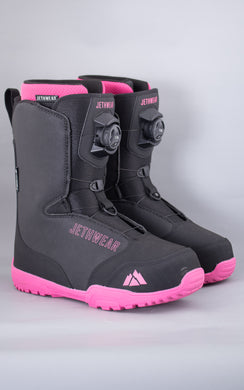 Ridge Boot Black/Pink