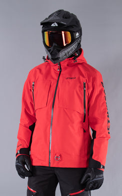 The Burn Jacket Red