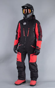 M's Freedom Suit Black-Red