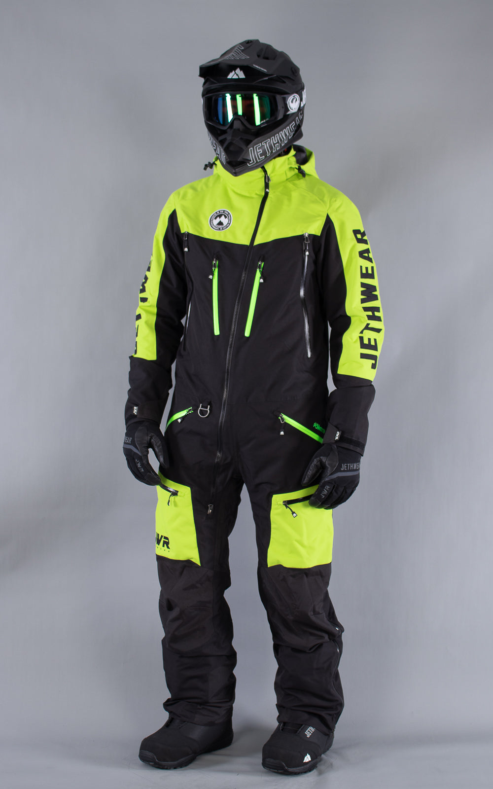 M's Freedom Suit Black-Lime