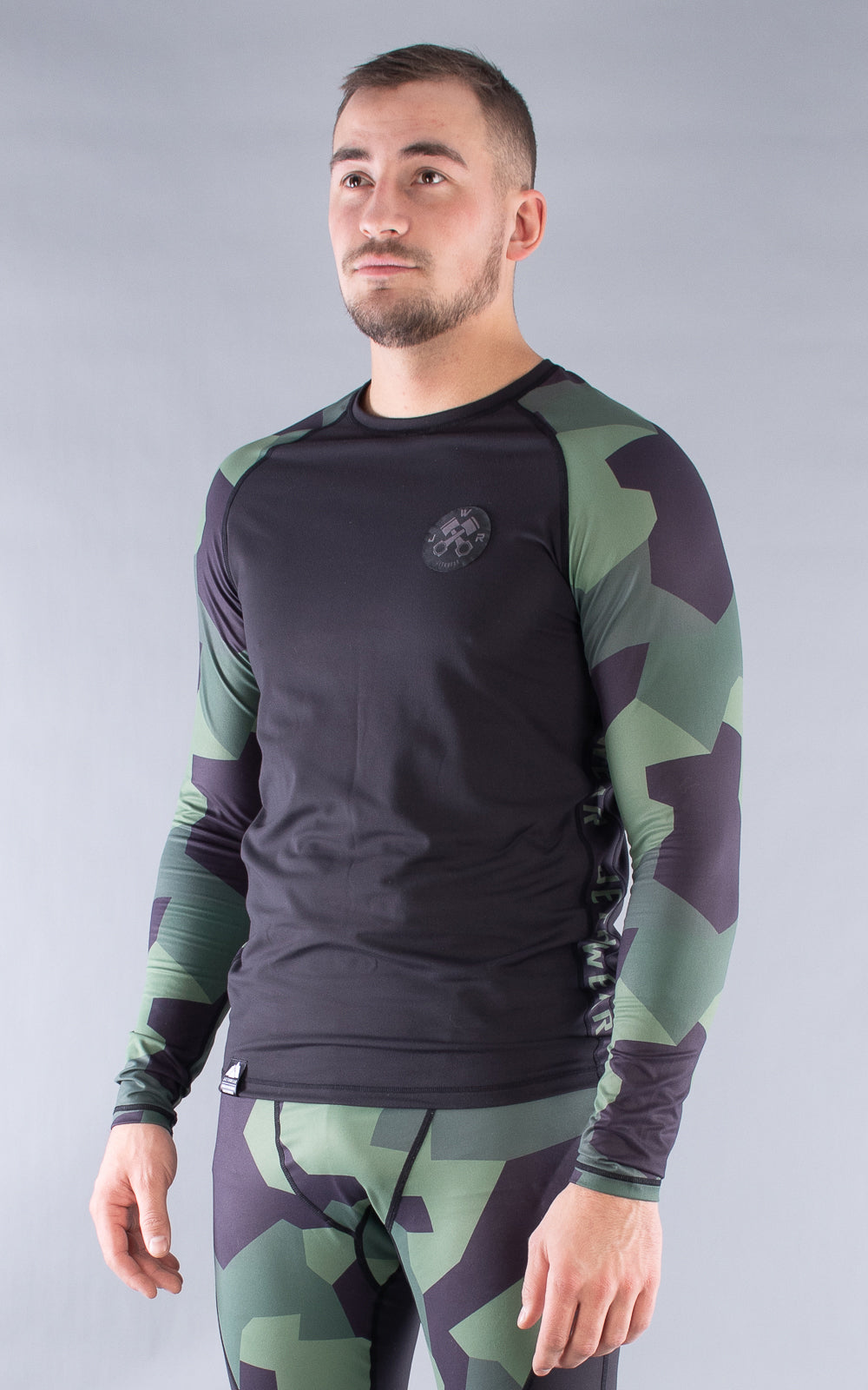 M's Base One Slip Forest Camo