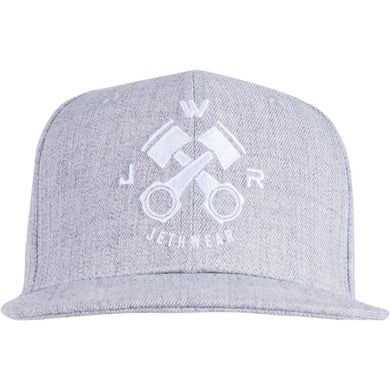 Piston Snapback Grey Melange