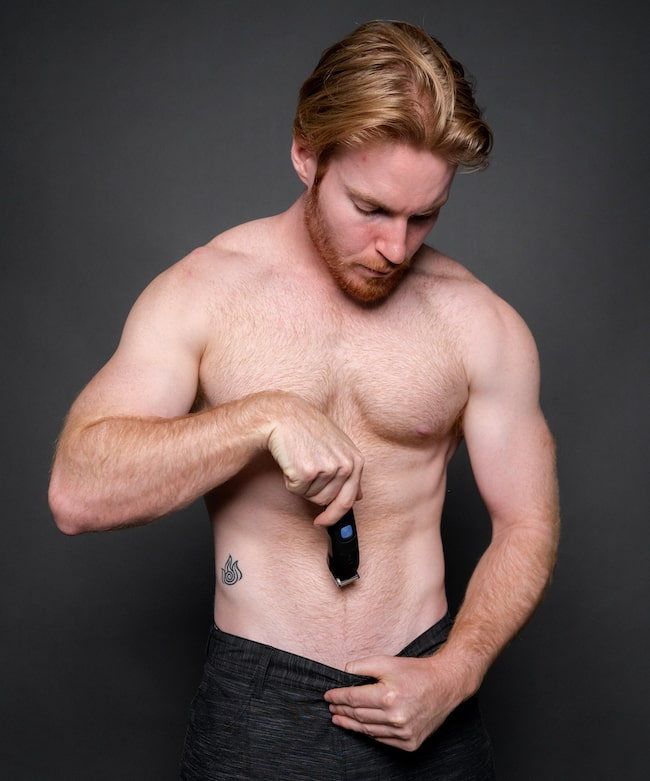 Manscaping Groin