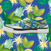 Load image into Gallery viewer, Inka Sneaker Jungle Blue - Low sole