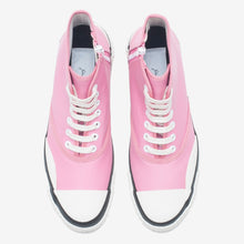 Load image into Gallery viewer, Inka Sneaker Ribbed Sole Pink - Hi-top