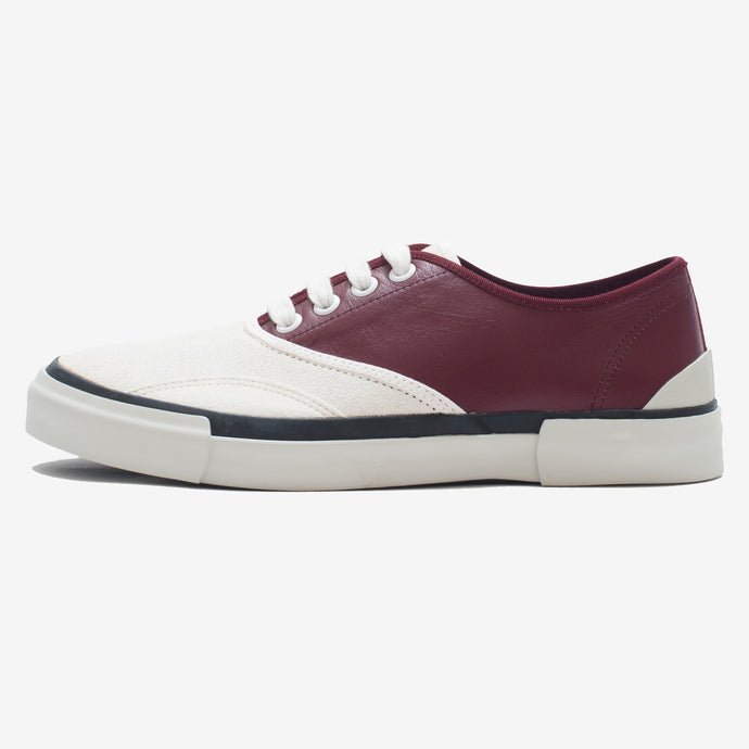 Inka Sneaker Bordeaux / White - Low sole