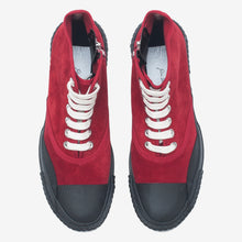 Load image into Gallery viewer, Inka Sneaker Red - Low sole Hi-top