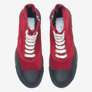 Inka Sneaker Red - Low sole Hi-top