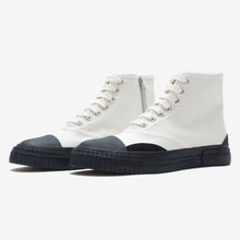 Load image into Gallery viewer, Inka Sneaker White - Low sole Hi-top