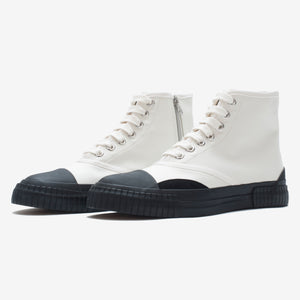 Inka Sneaker White - Low sole Hi-top