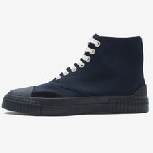 Load image into Gallery viewer, Inka Sneaker Navy - Low sole Hi-top
