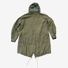 Load image into Gallery viewer, Washed Nylon Khaki Parka