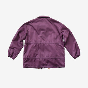 Multi Puller Purple Coach Jacket