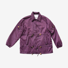 Load image into Gallery viewer, Multi Puller Purple Coach Jacket