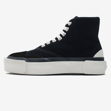 Load image into Gallery viewer, NEW Inka Sneaker BLACK BLACK suede - Hi-top