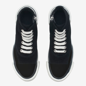 NEW Inka Sneaker BLACK BLACK suede - Hi-top