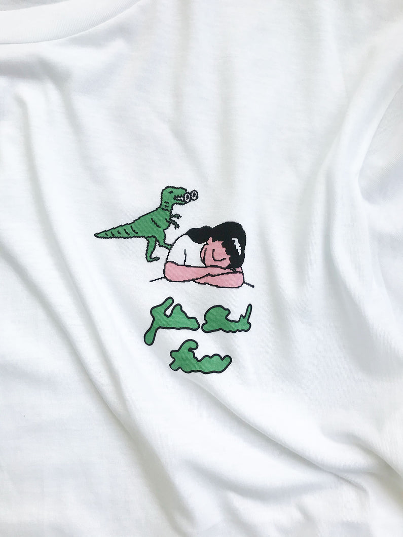 Face Oka x Julien David Collaboration T-shirt Dino