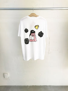 Face Oka x Julien David Collaboration T-shirt Yellow Duck