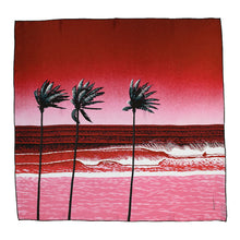 "Load image into Gallery viewer, HIROSHI NAGAI SCARF ""THE WAVE, INDIAN SUMMER"""