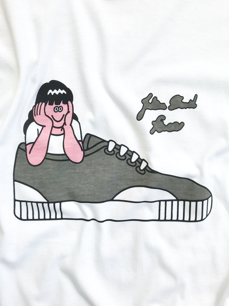 Face Oka x Julien David Collaboration T-shirt Sneaker