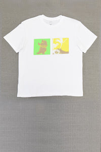 T9G x JULIEN DAVID RANGEAS JR WHITE T-SHIRT