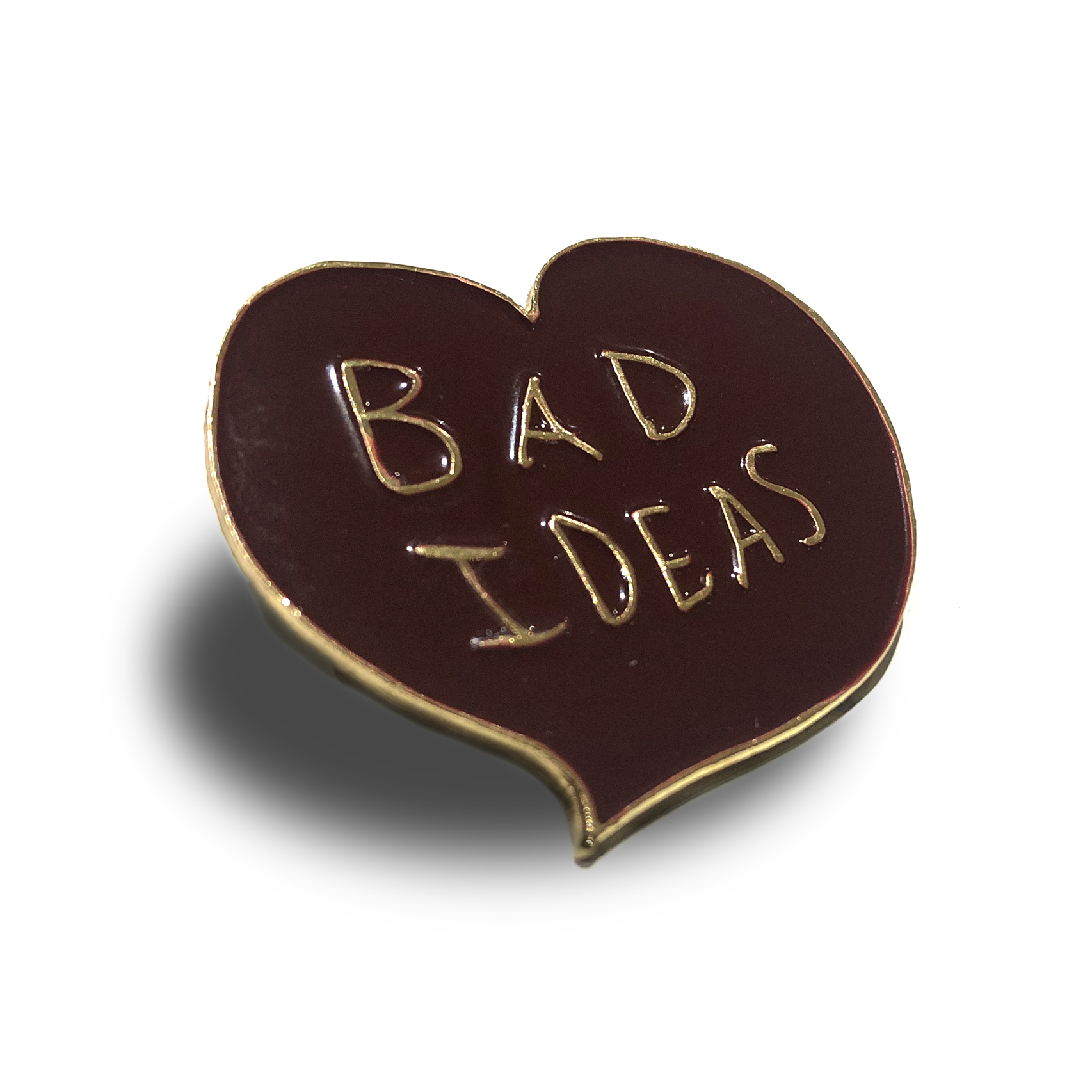 Bad Ideas Pin Badge