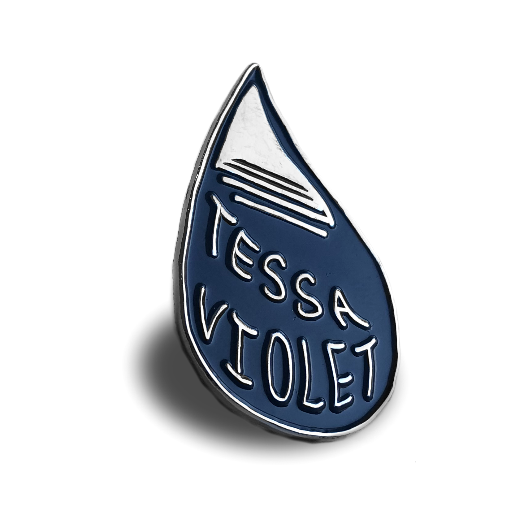 Tessa Pin Badge