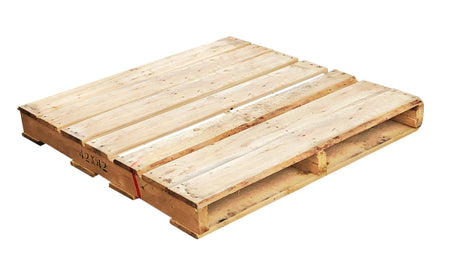 "42"" x 42"" Recycled Wood Pallet - An economical way to protect, store or move products. Tough, durable wood is stackable and reusable. Fork Access: 4-way Entry. Weight Capacity: 1,500 Ibs. Deck-board Specifications: 7 boards on top, 4 boards on bottom and 3 stringer."